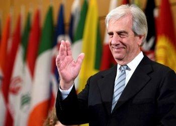 El expresidente de Uruguay Tabaré Vázquez, fallecido el 6 de diciembre de 2020. Foto: Laurent Gillieron / EFE / Archivo.