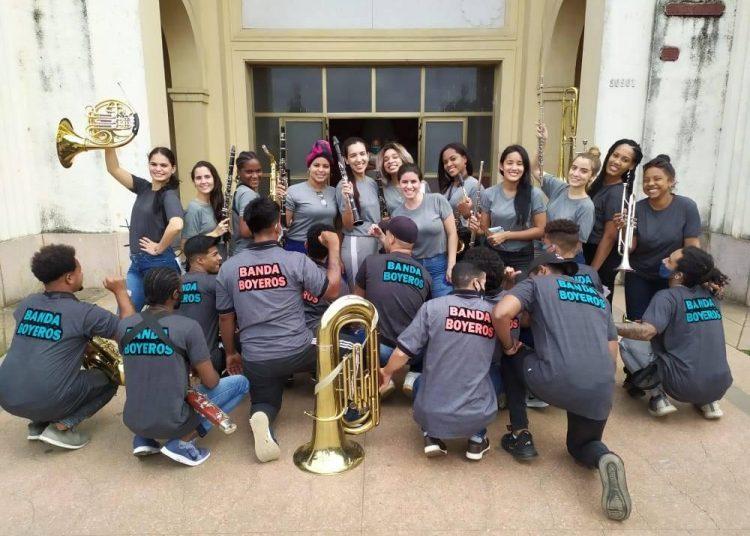 Banda municipal de concierto de Boyeros. Foto: página oficial de facebook de la agrupación