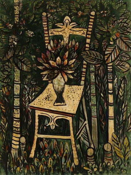 La Silla (1943), in the Havana National Museum of Fine Arts
