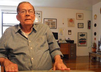 El escritor y periodista cubano Albor Ruiz, fallecido en Florida, EE.UU., el 8 de enero de 2021. Foto: Progreso Semanal / Archivo.