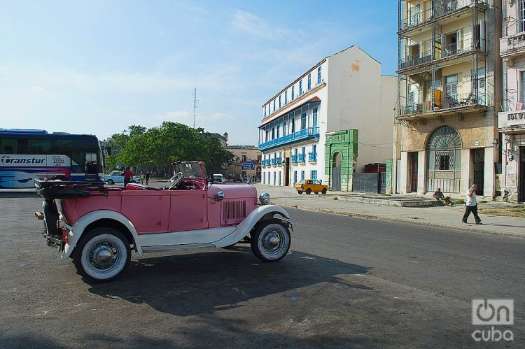 Calle Cuba, en La Habana. Foto: Otmaro Rodríguez.