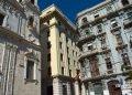 Edificaciones de la calle Cuba, en La Habana. Foto: Otmaro Rodríguez.