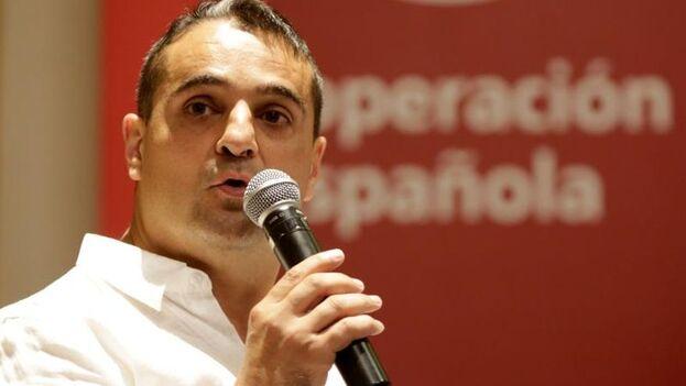 El nuevo embajador, Ángel Martín Peccis. Foto: EFE.