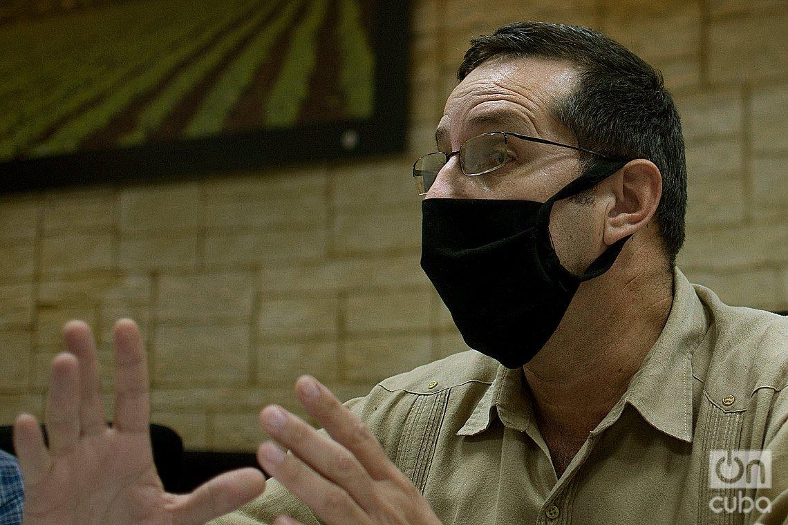 Orlando Díaz Rodríguez, Director Jurídico del Ministerio de la Agricultura (MINAG). Foto: Otmaro Rodríguez.