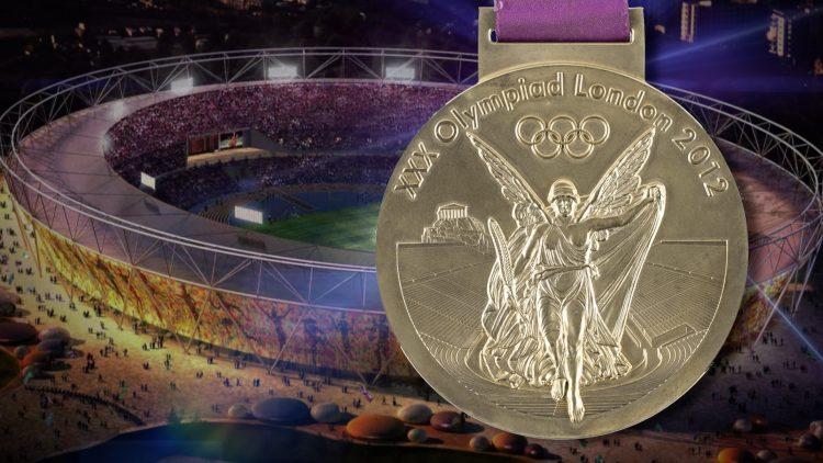 Medalla olímpica de Leuris Pupo subastada por RR Auction. Foto: Mike Graff/Twitter.