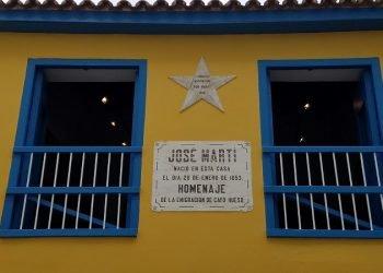 Casa natal del Maestro. Foto: Radio Rebelde.