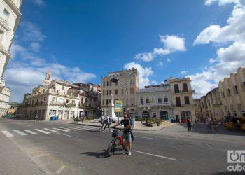 Plazuela de Albear, en la calle Monserrate, o Avenida de Bélgica, en La Habana. Foto: Otmaro Rodríguez.