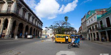 Calle Monserrate, o Avenida de Bélgica, en La Habana. Foto: Otmaro Rodríguez.