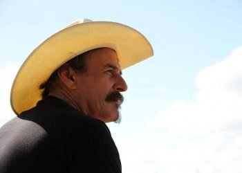 Felito Lahera como Carlos Manuel de Céspedes en la película cubana El Mayor. Foto: Facebook de Daniel Romero.