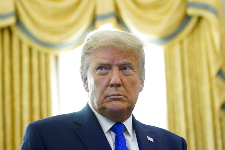 El presidente Donald Trump en la Casa Blanca el 7 de diciembre de 2020. Foto: Patrick Semansky/AP.