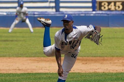 El pitcher cubano Andy Rodríguez. Foto: Cubadebate / Archivo.