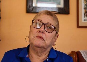 Julita Osendi, una de las figuras más polémicas del periodismo deportivo cubano en los últimos 30 años. Foto: Foto: Jorge Alfonso Pita/Alma Mater.