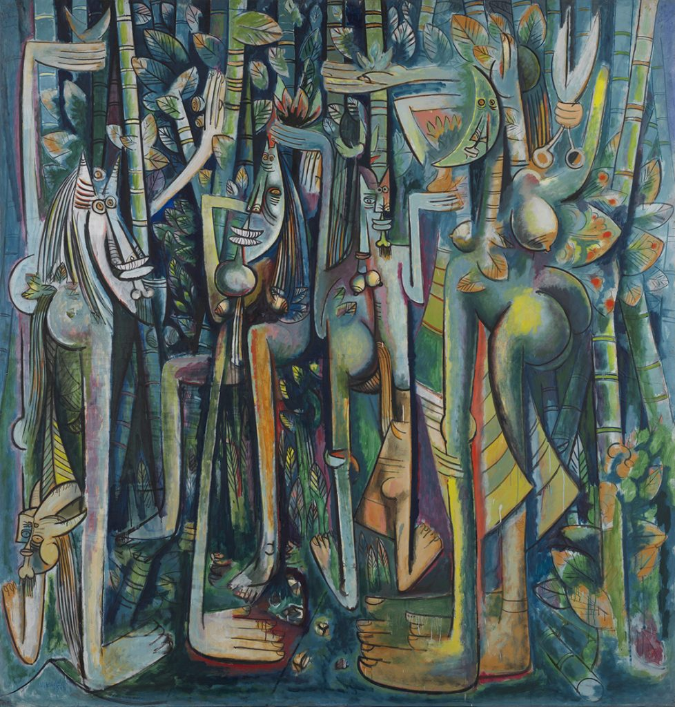 The Jungle (1943). In the New York Museum of Modern Art (MoMA)