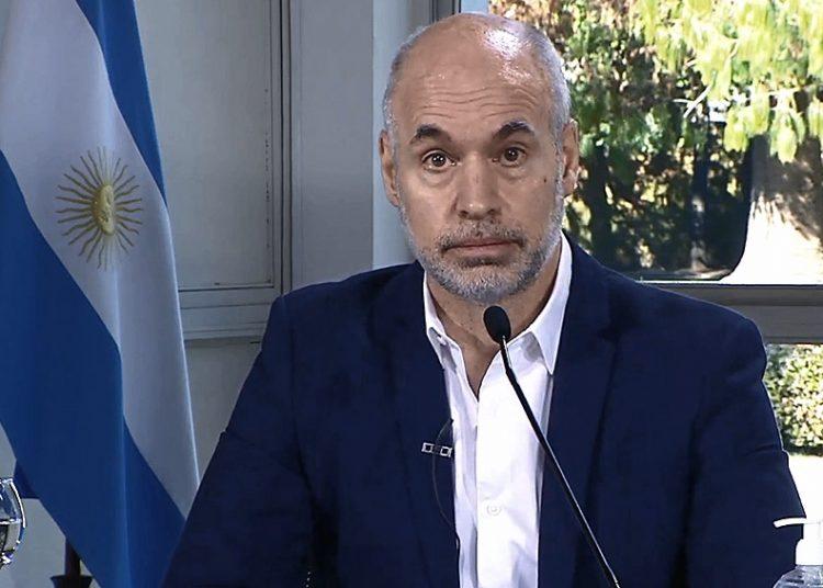 Horacio Rodríguez Larreta, jefe de gobierno de la Ciudad de Buenos Aires. Foto: telam.com.ar.