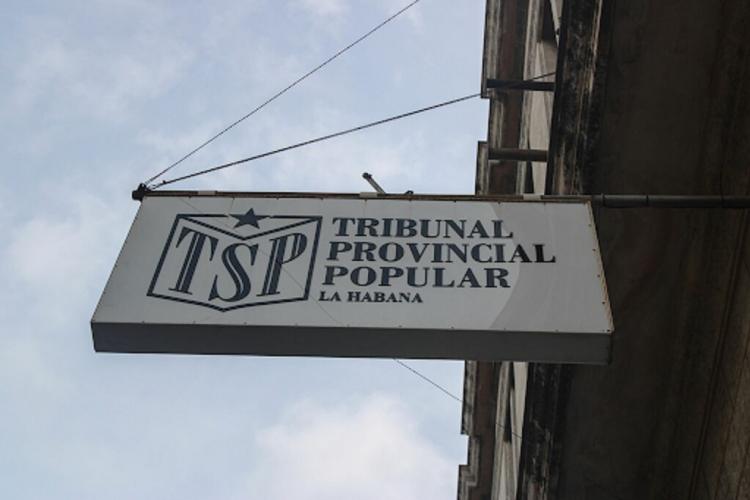 Tribunal Provincial Popular de La Habana. Foto: Yandry Fernández / ACN / Archivo.