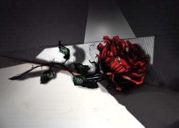 "A Rachel la apodaban ""La Rosa de Francia"". Ilustración: Claudia Margarita Guillén Miranda."