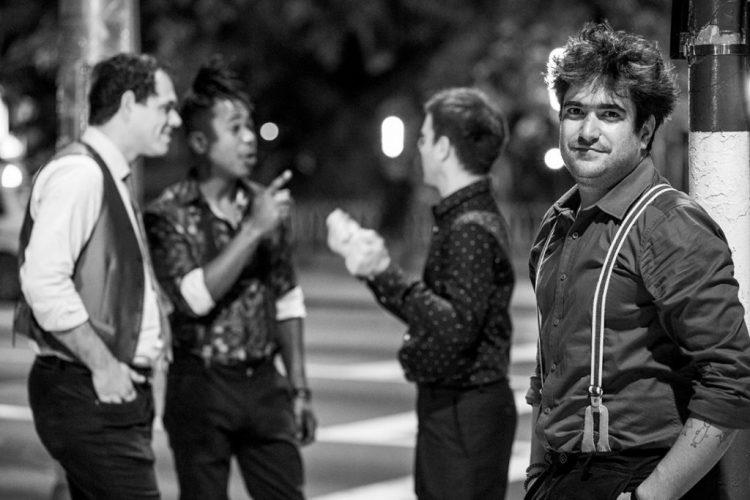 De izquierda a derecha: Maykel González (trompeta), Julio César González (bajo), Ruy López-Nussa (batería) y Harold López-Nussa (piano). Foto: Cortesía de HLN (Archivo).
