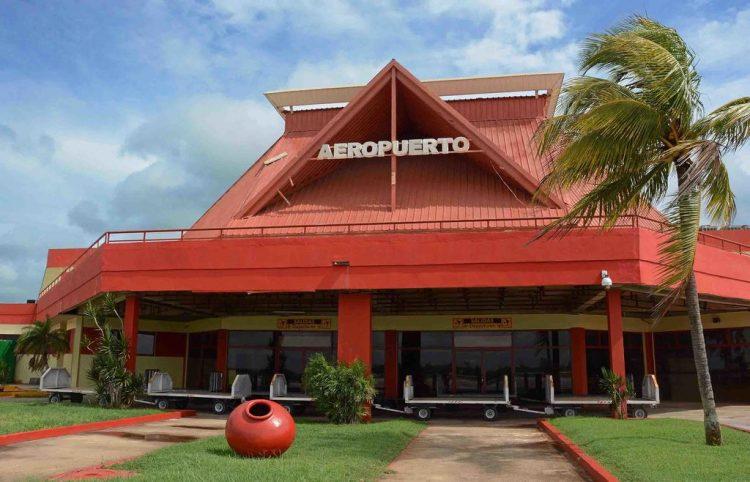 Aereopuerto Internacional Ignacio Agramonte de Camagüey. Foto: Mitrans.