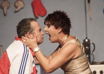El grupo Teatro Aire Frío. Foto: CNAE.