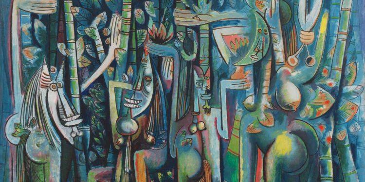 Wifredo Lam: La jungla. Foto: Archivo.