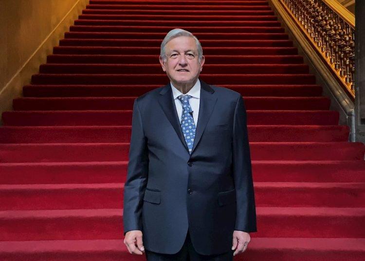 El presidente de México, Andrés Manuel López Obrador el jueves 4 de febrero en Ciudad de México. Foto: Presidencia México/Efe.