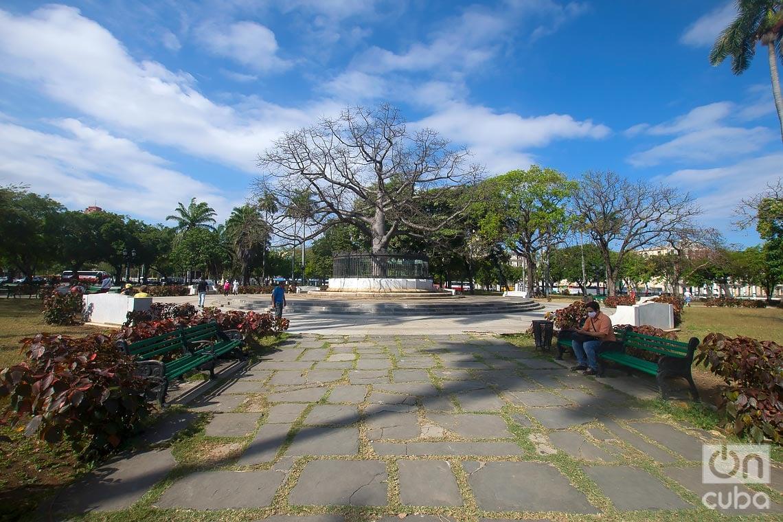 El Parque de la Fraternidad, en La Habana. Foto: Otmaro Rodríguez.
