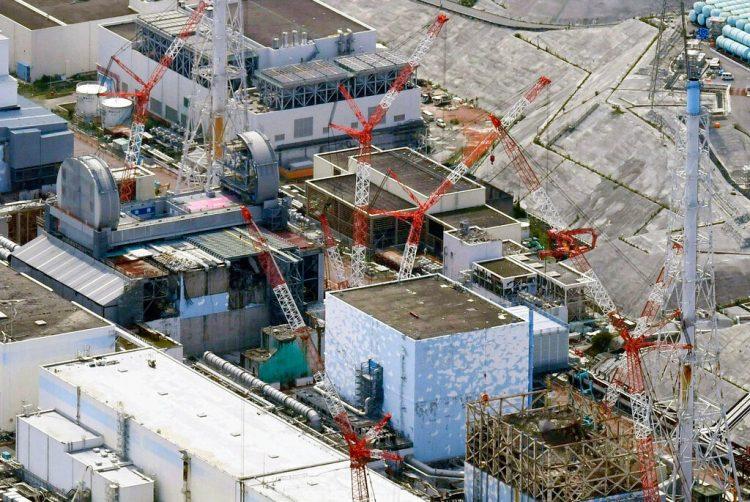 Foto aérea de la planta nuclear Fukushima Dai-ichi en Japón, el 4 de septiembre de 2017. Foto: Daisuke Suzuki/Kyodo News via AP/Archivo.