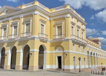 El Teatro Sauto de Matanzas. Foto: Twitter.