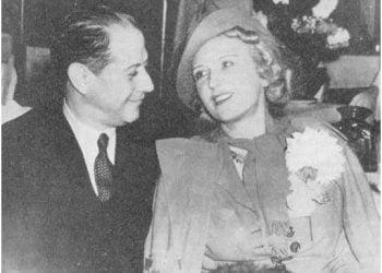 Capablanca y su esposa Olga Chagodaef. Foto tomada del blog Zenda.
