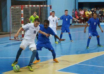 Equipo Cuba de fútbol sala derrota al conjunto de Curazao, en la Sala Polivalente Kid Chocolate, en 2016. Foto: Eddy Martin/ trabajadores.cu/
