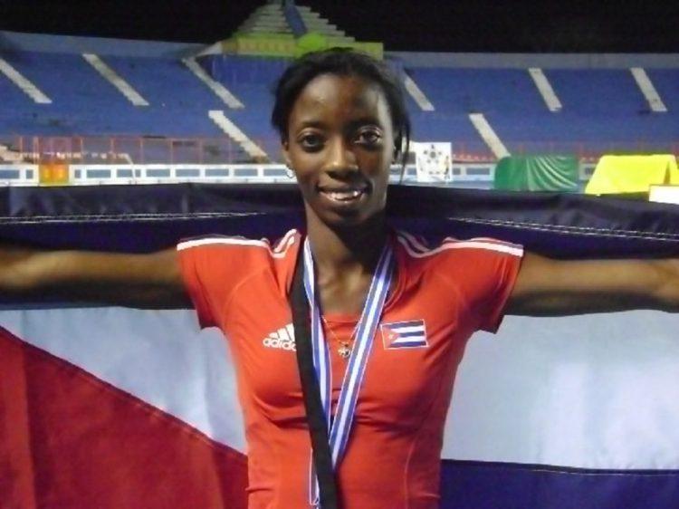 Liuba Zaldívar, atleta cubana que hoy sigue su carrera en Ecuador. Foto: cortesía de la entrevistada.