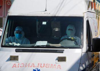 Una ambulancia del Sistema Integrado de Urgencias Médicas, en Las Tunas, en el oriente cubano. Foto: periodico26.cu