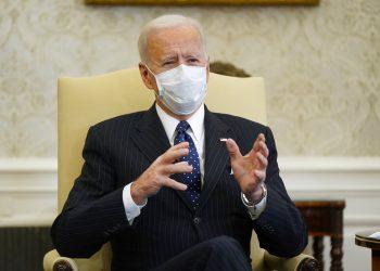 El presidente Joe Biden en la oficina Oval de la Casa Blanca, en Washington, D.C. Foto: Patrick Semansky/AP.