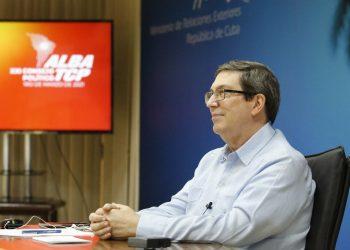 El canciller cubano, Bruno Rodríguez Parrilla. Foto: ACN.