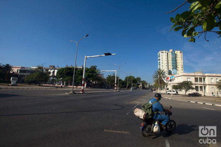 Calle Línea y la Avenida de los Presidentes (Calle G). Foto: Otmaro Rodríguez