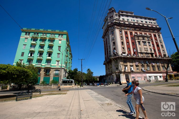 Avenida de Los Presidentes. Foto: Otmaro Rodríguez