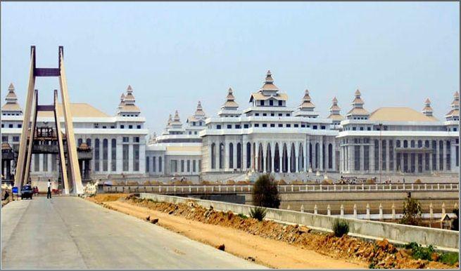 Naypyidaw: la nueva capital de Birmania. Foto: Pinterest.