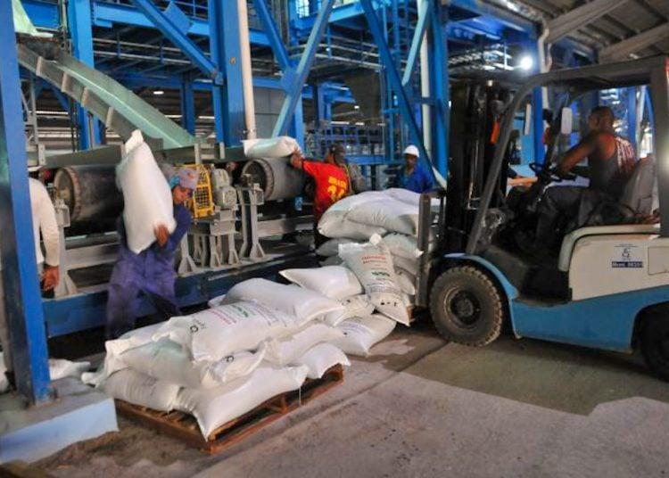La Fábrica de Fertilizantes Mezclados está ubicada en la Zona Industrial de Cienfuegos. Foto: granma.cu/Archivo.