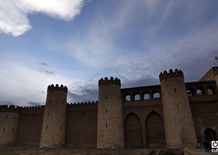 Fachada del Palacio de la Aljafería