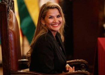 La expresidenta interina de Bolivia Jeanine Áñez. Foto: Buenos Aires Times.