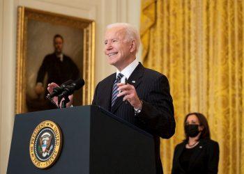 El presidente de los EE.UU., Joe Biden. Foto: Michael Reynolds / Pool / EFE.