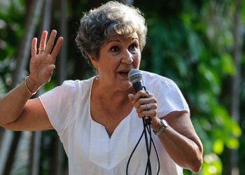 La  narradora oral Mayra Navarro. Foto: El Toque.