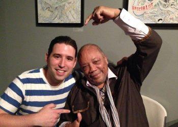 Alfredo Rodríguez y Quincy Jones. Foto: facebook.com/alfredo.rodriguez