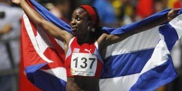 La corredora cubana Rose Mary Almanza. Foto: Luis Eduardo Noriega A. / EFE / Archivo.