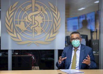 El director general de la Organización Mundial de la Salud (OMS), Tedros Adhanom Ghebreyesus. Foto: MARTIAL TREZZINI/Efe/EPA/Archivo.
