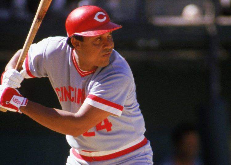 Tany Pérez, leyenda cubana de Cincinnati Reds. Foto: Twitter de Cincinnati Reds.