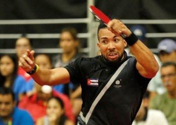 El cubano Andy Pereira. Foto: Carlos Durán Araújo/Efe/Archivo