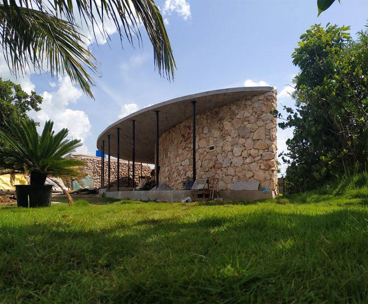 Casa C, proyecto de Infraestudio (en construcción). Foto: cortesía de Infraestudio.
