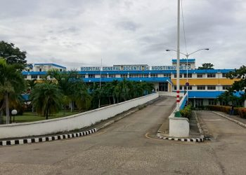 Hospital General Docente Agostinho Neto, de Guantánamo, en el oriente de Cuba. Foto: instituciones.gtm.sld.cu
