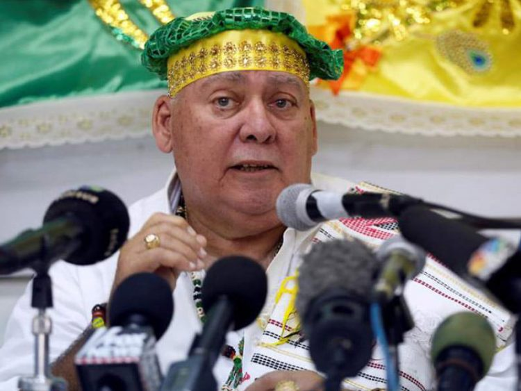 José Manuel Pérez Andino, presidente de la Asociación Cultural Yoruba de Cuba, fallecido el 7 de abril de 2021. Foto: Cubadebate.